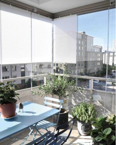 balkonscherm raam